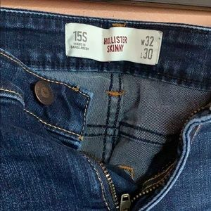 Hollisten women's  skinny jeans size 32x30